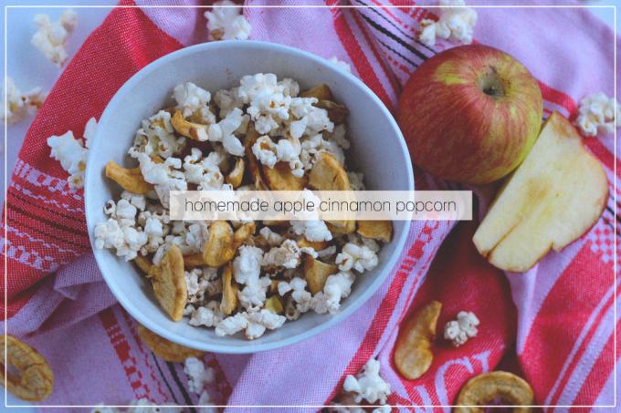 DIY microwave popcorn (with a seasonal twist)