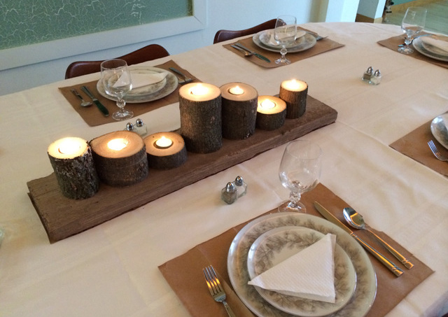 thrifty thanksgiving day decor