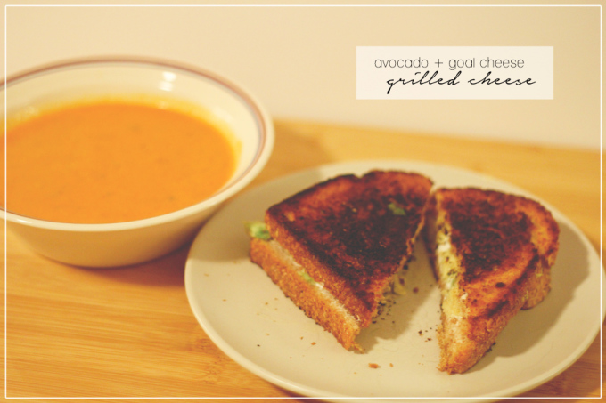healthified grilled cheese