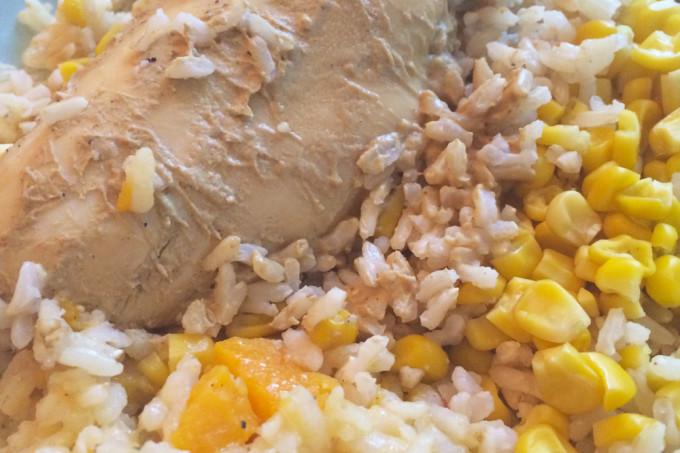 easy dijon chicken recipe - three ingredients and less sugar
