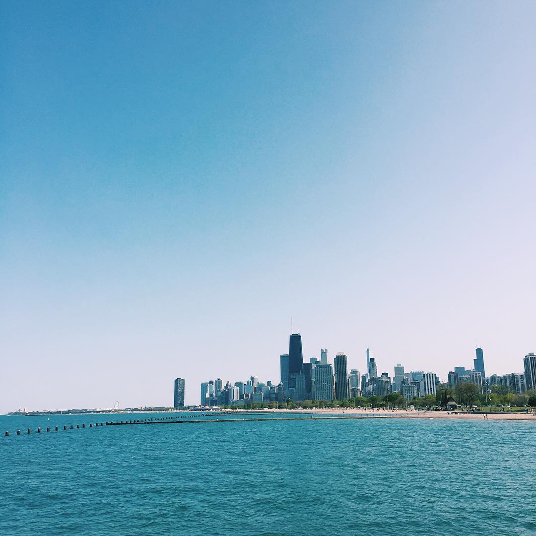 Chicago in the Summer
